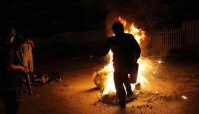 Donde hubo fuego, ganas de volver a quemar quedan. Fotoes.mx