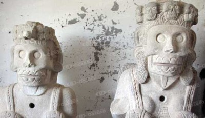 """Ahí se encuentra el """"Templo de las Calaveras"""". Fotoes.mx"""